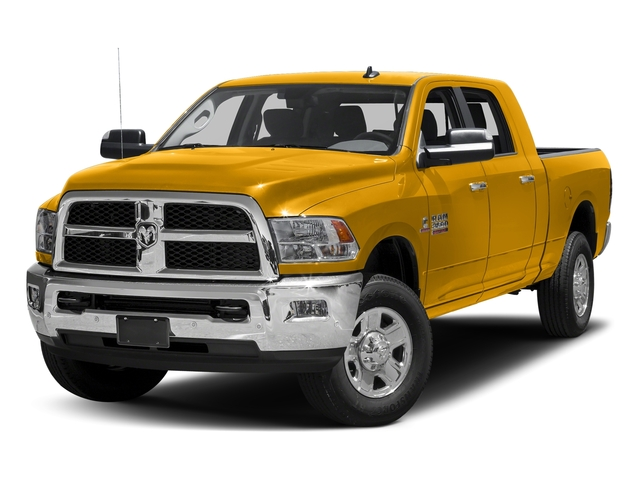 Construction Yellow 2017 Ram Truck 3500 Pictures 3500 SLT 4x2 Mega Cab 6'4 Box photos front view