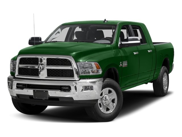 Tree Green 2017 Ram Truck 3500 Pictures 3500 Mega Cab SLT 4WD photos front view