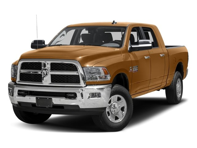 Power Tan 2017 Ram Truck 3500 Pictures 3500 SLT 4x2 Mega Cab 6'4 Box photos front view