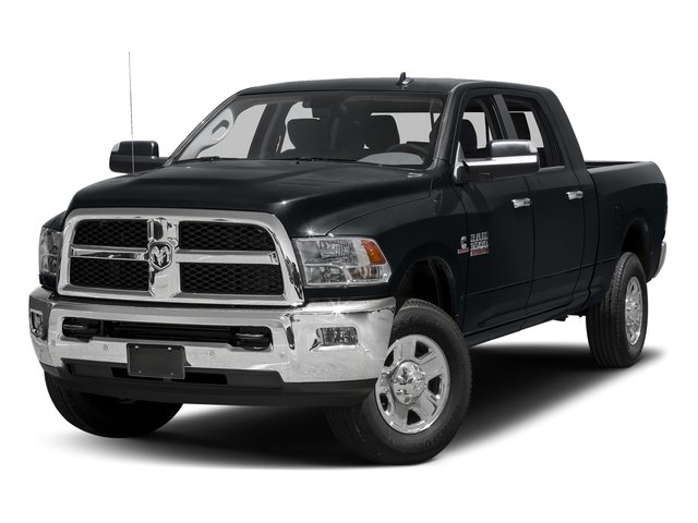 Maximum Steel Metallic Clearcoat 2017 Ram Truck 3500 Pictures 3500 SLT 4x2 Mega Cab 6'4 Box photos front view