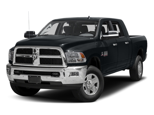Maximum Steel Metallic Clearcoat 2017 Ram Truck 3500 Pictures 3500 Mega Cab SLT 4WD photos front view