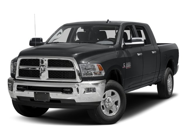 Granite Crystal Metallic Clearcoat 2017 Ram Truck 3500 Pictures 3500 SLT 4x2 Mega Cab 6'4 Box photos front view