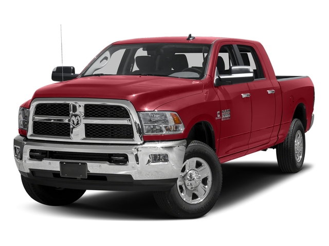 Flame Red Clearcoat 2017 Ram Truck 3500 Pictures 3500 SLT 4x2 Mega Cab 6'4 Box photos front view