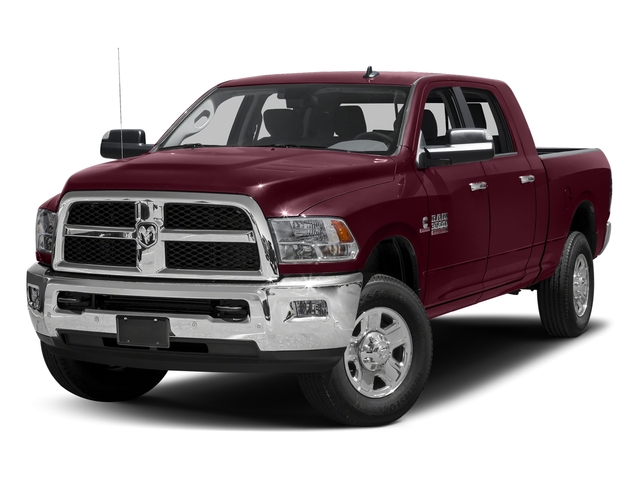 Delmonico Red Pearlcoat 2017 Ram Truck 3500 Pictures 3500 SLT 4x2 Mega Cab 6'4 Box photos front view