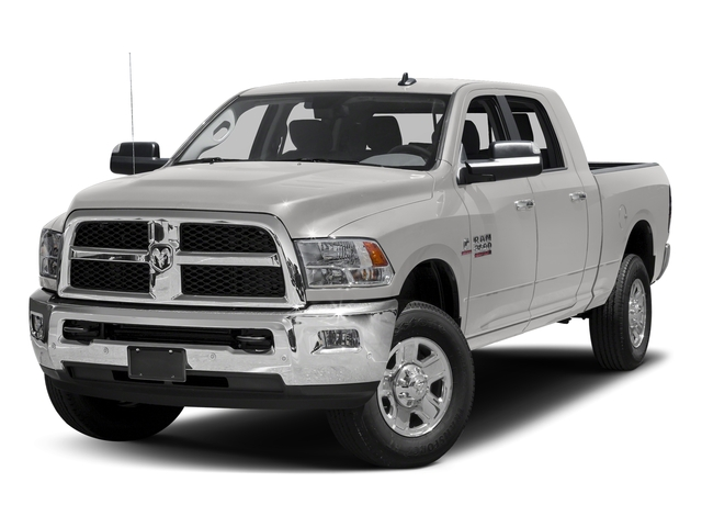 Bright Silver Metallic Clearcoat 2017 Ram Truck 3500 Pictures 3500 SLT 4x2 Mega Cab 6'4 Box photos front view