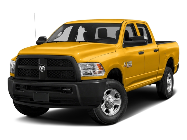 Construction Yellow 2017 Ram Truck 3500 Pictures 3500 Crew Cab Tradesman 4WD photos front view