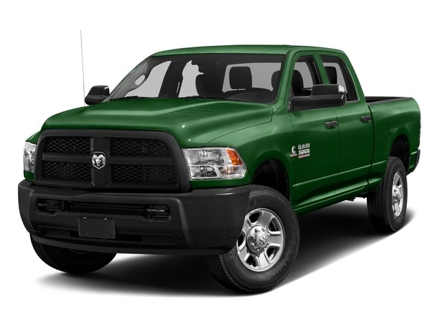 Tree Green 2017 Ram Truck 3500 Pictures 3500 Crew Cab Tradesman 4WD photos front view