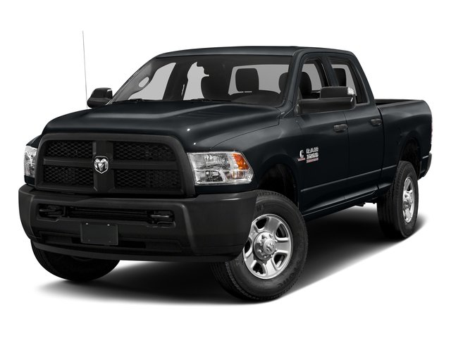 Maximum Steel Metallic Clearcoat 2017 Ram Truck 3500 Pictures 3500 Crew Cab Tradesman 4WD photos front view