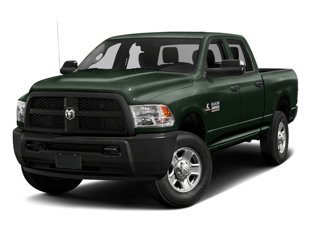 Black Forest Green Pearlcoat 2017 Ram Truck 3500 Pictures 3500 Crew Cab Tradesman 4WD photos front view