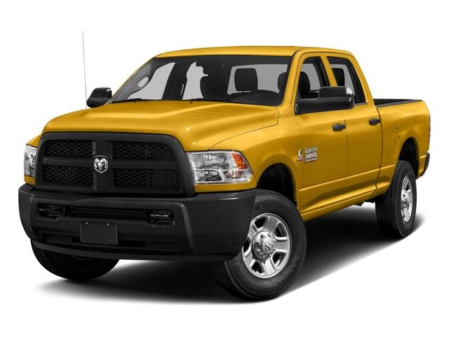 School Bus Yellow 2017 Ram Truck 3500 Pictures 3500 Crew Cab Tradesman 4WD photos front view