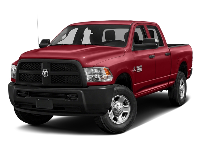 Flame Red Clearcoat 2017 Ram Truck 3500 Pictures 3500 Crew Cab Tradesman 4WD photos front view