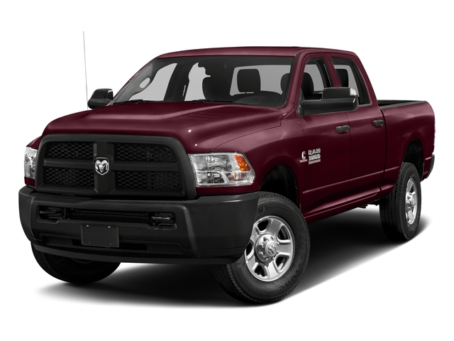 Delmonico Red Pearlcoat 2017 Ram Truck 3500 Pictures 3500 Tradesman 4x4 Crew Cab 6'4 Box photos front view