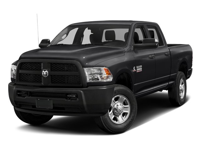 Black Clearcoat 2017 Ram Truck 3500 Pictures 3500 Crew Cab Tradesman 4WD photos front view