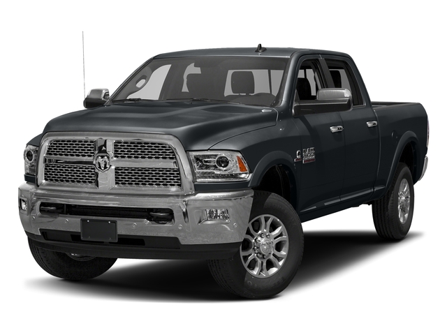 Maximum Steel Metallic Clearcoat 2017 Ram Truck 3500 Pictures 3500 Crew Cab Laramie 4WD photos front view