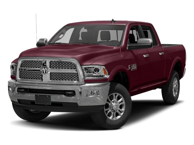 Delmonico Red Pearlcoat 2017 Ram Truck 3500 Pictures 3500 Laramie 4x4 Crew Cab 6'4 Box photos front view
