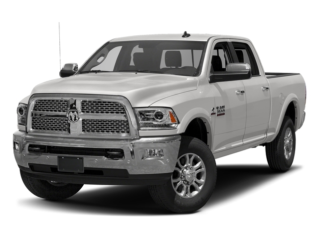 Bright Silver Metallic Clearcoat 2017 Ram Truck 3500 Pictures 3500 Crew Cab Laramie 4WD photos front view