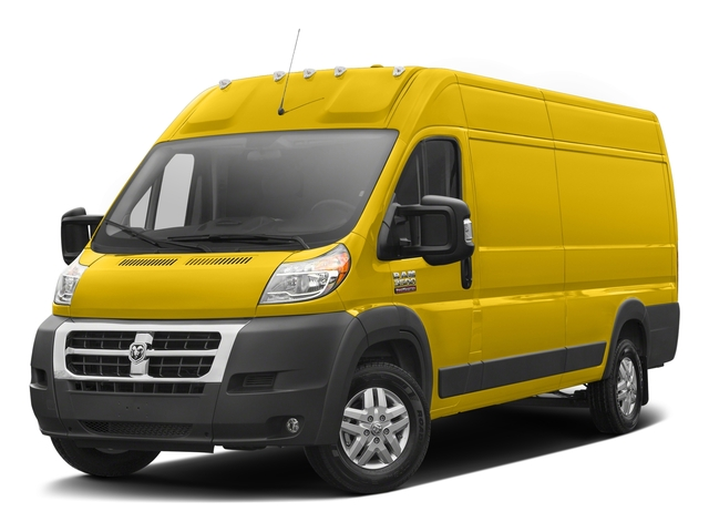 Broom Yellow Clearcoat 2017 Ram Truck ProMaster Cargo Van Pictures ProMaster Cargo Van 3500 High Roof 159 WB EXT photos front view
