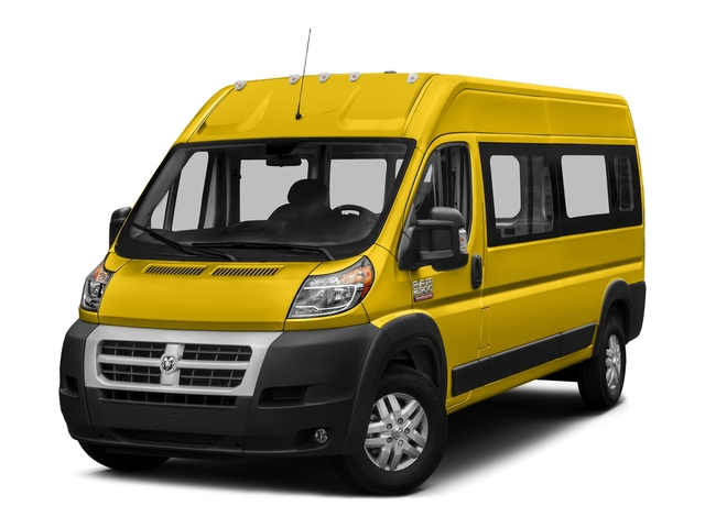 Broom Yellow Clearcoat 2017 Ram Truck ProMaster Window Van Pictures ProMaster Window Van 2500 High Roof 159 WB photos front view
