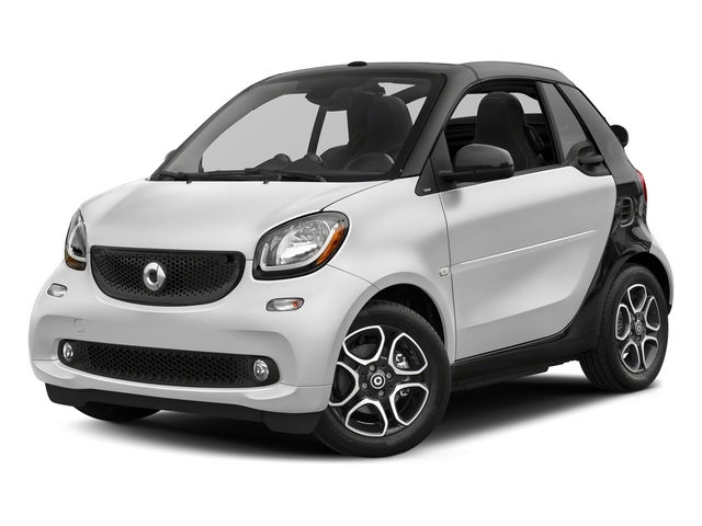 White 2017 smart fortwo Pictures fortwo Convertible 2D Prime I3 Turbo photos front view