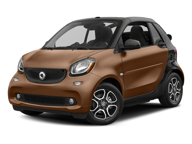 Hazel Brown Metallic 2017 smart fortwo Pictures fortwo Convertible 2D Prime I3 Turbo photos front view