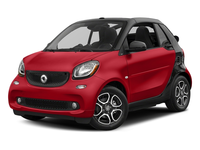 Red 2017 smart fortwo Pictures fortwo Convertible 2D Prime I3 Turbo photos front view