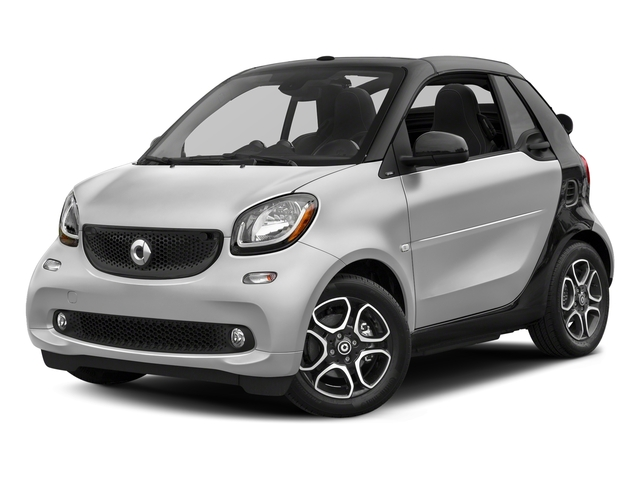 Cool Silver Metallic 2017 smart fortwo Pictures fortwo Convertible 2D Prime I3 Turbo photos front view