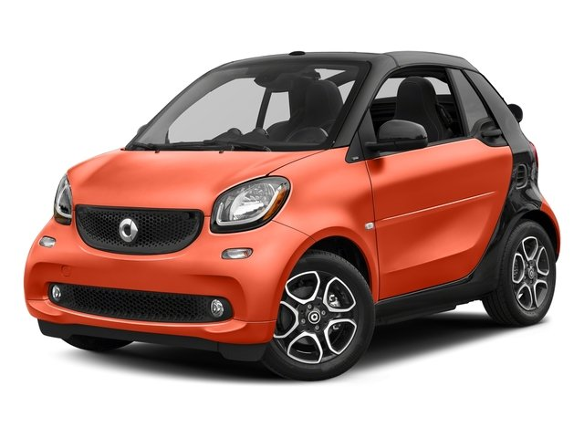 Lava Orange Metallic 2017 smart fortwo Pictures fortwo Convertible 2D Prime I3 Turbo photos front view