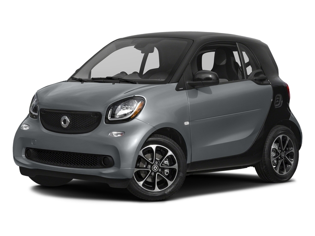 Titania Grey Matte 2017 smart fortwo Pictures fortwo Coupe 2D Pure I3 Turbo photos front view