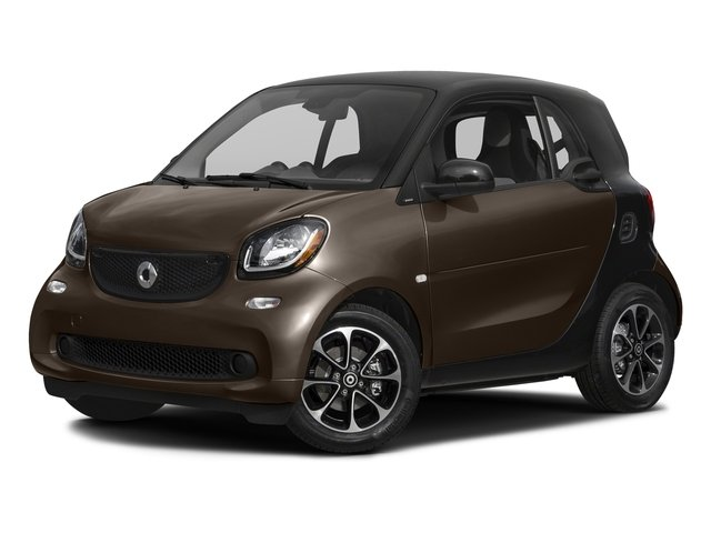 Hazel Brown Metallic 2017 smart fortwo Pictures fortwo Coupe 2D Pure I3 Turbo photos front view