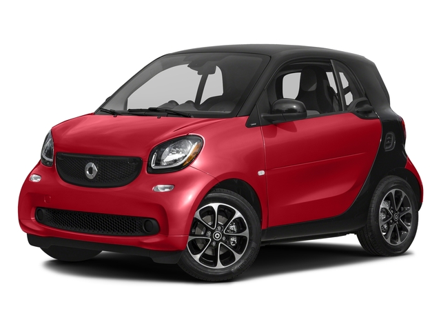 Red 2017 smart fortwo Pictures fortwo Coupe 2D Pure I3 Turbo photos front view