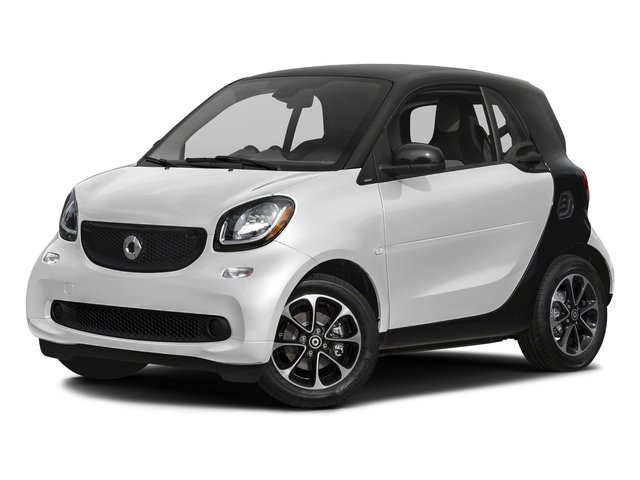 Cool Silver Metallic 2017 smart fortwo Pictures fortwo Coupe 2D Pure I3 Turbo photos front view