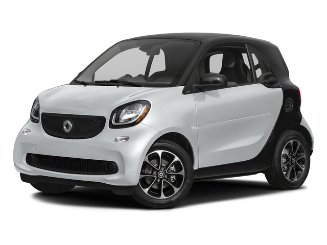 Moon White Matte 2017 smart fortwo Pictures fortwo Coupe 2D Pure I3 Turbo photos front view
