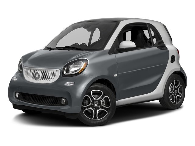 Titania Grey Matte 2017 smart fortwo Pictures fortwo Coupe 2D Proxy I3 Turbo photos front view