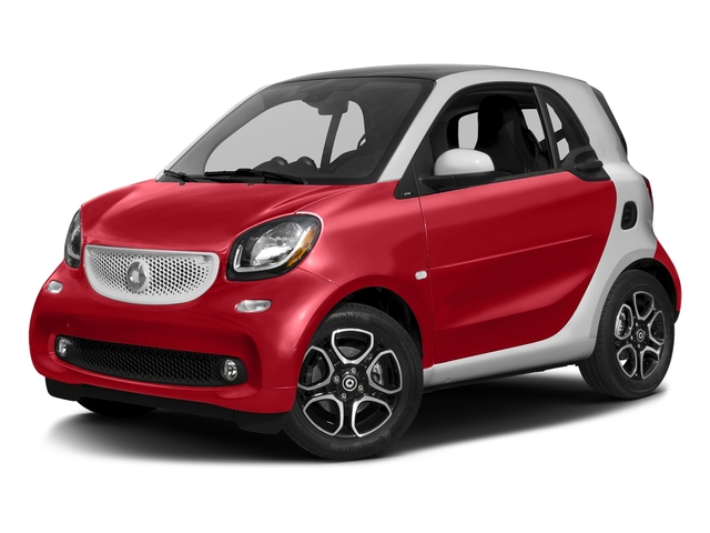 Red 2017 smart fortwo Pictures fortwo Coupe 2D Proxy I3 Turbo photos front view