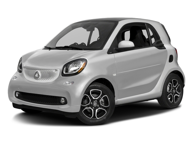 Cool Silver Metallic 2017 smart fortwo Pictures fortwo Coupe 2D Proxy I3 Turbo photos front view