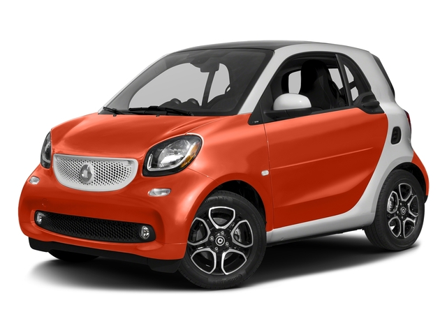 Lava Orange Metallic 2017 smart fortwo Pictures fortwo Coupe 2D Proxy I3 Turbo photos front view
