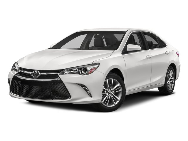 Super White 2017 Toyota Camry Pictures Se Auto Photos Front View