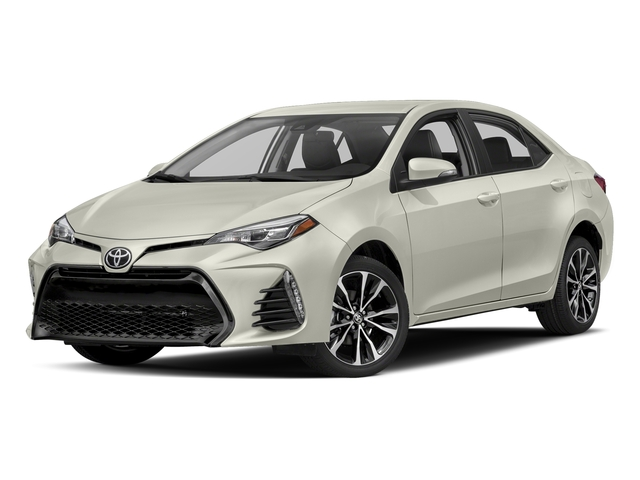 Blizzard Pearl 2017 Toyota Corolla Pictures Corolla Sedan 4D Anniversary I4 photos front view