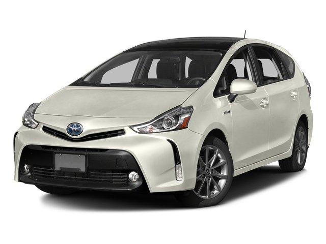Blizzard Pearl 2017 Toyota Prius v Pictures Prius v Liftback 5D v Five I4 Hybrid photos front view