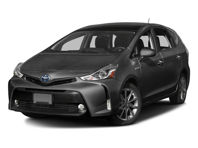 Magnetic Gray Metallic 2017 Toyota Prius v Pictures Prius v Liftback 5D v Five I4 Hybrid photos front view