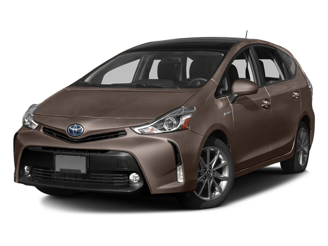 Toasted Walnut Pearl 2017 Toyota Prius v Pictures Prius v Liftback 5D v Five I4 Hybrid photos front view