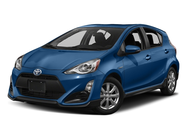 Blue Streak Metallic 2017 Toyota Prius c Pictures Prius c Liftback 5D c Four I4 Hybrid photos front view