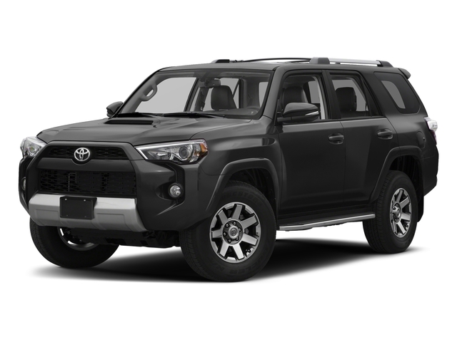Magnetic Gray Metallic 2017 Toyota 4Runner Pictures 4Runner Utility 4D TRD Off-Road 4WD V6 photos front view
