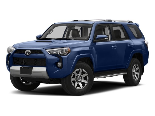 Nautical Blue Metallic 2017 Toyota 4Runner Pictures 4Runner Utility 4D TRD Off-Road 4WD V6 photos front view