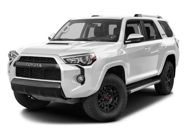 Super White 2017 Toyota 4Runner Pictures 4Runner Utility 4D TRD Pro 4WD V6 photos front view