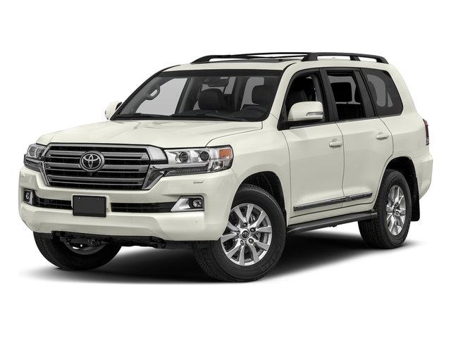 Blizzard Pearl 2017 Toyota Land Cruiser Pictures Land Cruiser Utility 4D 4WD V8 photos front view