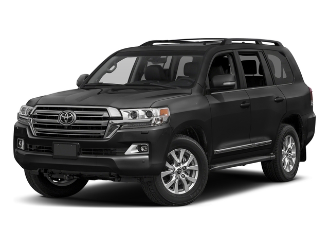 Magnetic Gray Metallic 2017 Toyota Land Cruiser Pictures Land Cruiser Utility 4D 4WD V8 photos front view