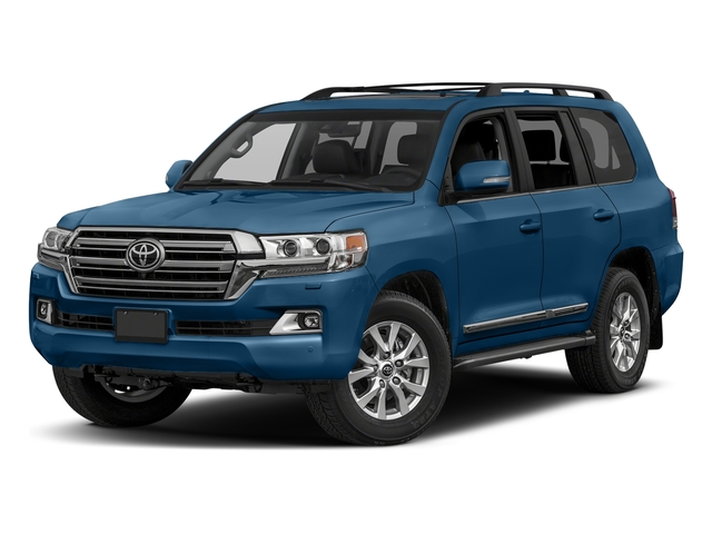 Blue Onyx Pearl 2017 Toyota Land Cruiser Pictures Land Cruiser Utility 4D 4WD V8 photos front view