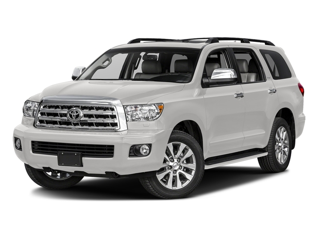 Super White 2017 Toyota Sequoia Pictures Sequoia Utility 4D Limited 2WD V8 photos front view