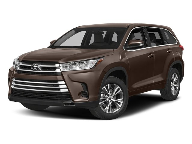 Toasted Walnut Pearl 2017 Toyota Highlander Pictures Highlander Utility 4D LE 4WD V6 photos front view